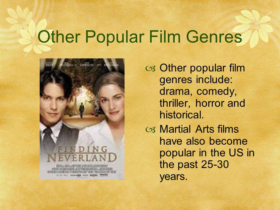 Other Popular Film Genres