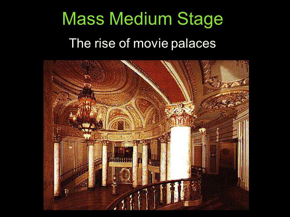 The rise of movie palaces