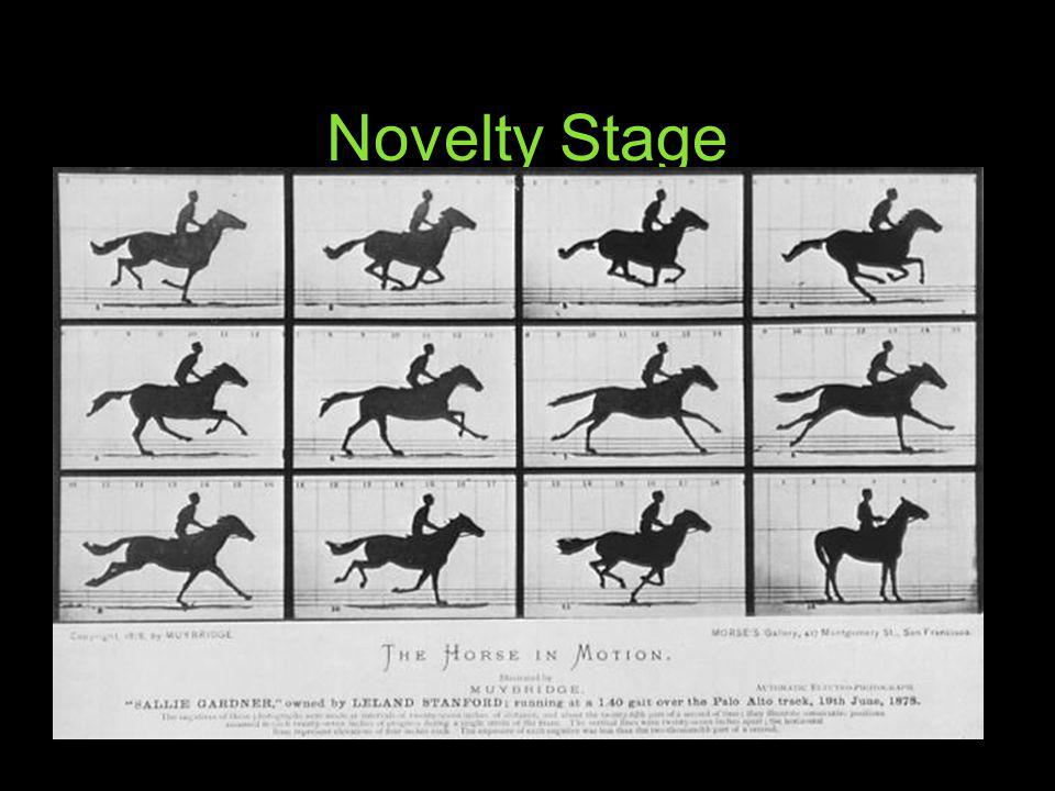 Novelty Stage How do you make images MOVE Flip book