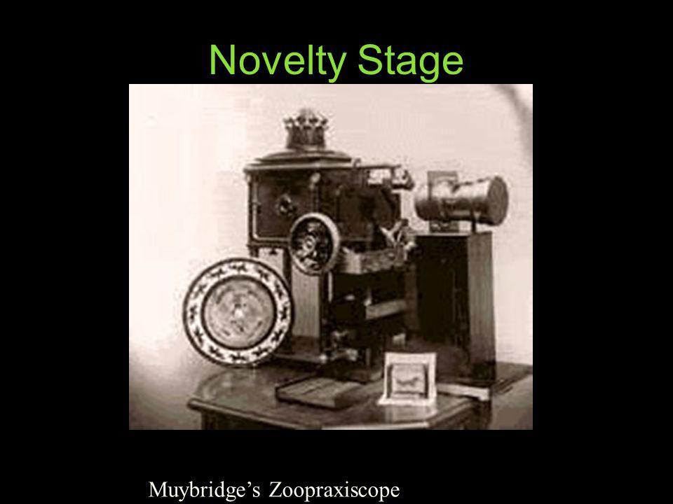 Novelty Stage Muybridge's Zoopraxiscope