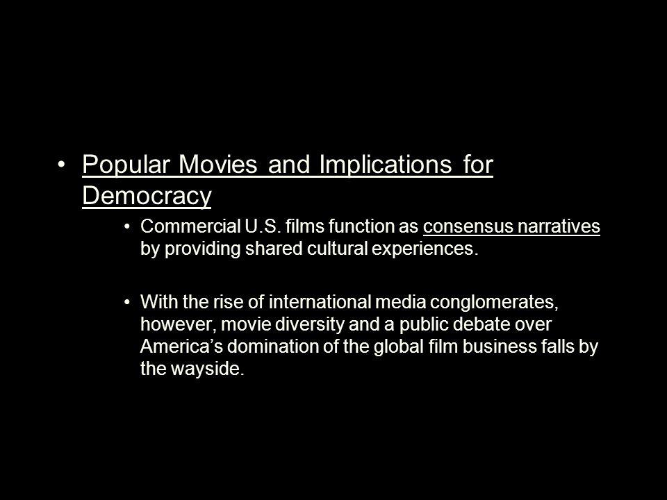 Popular Movies and Implications for Democracy