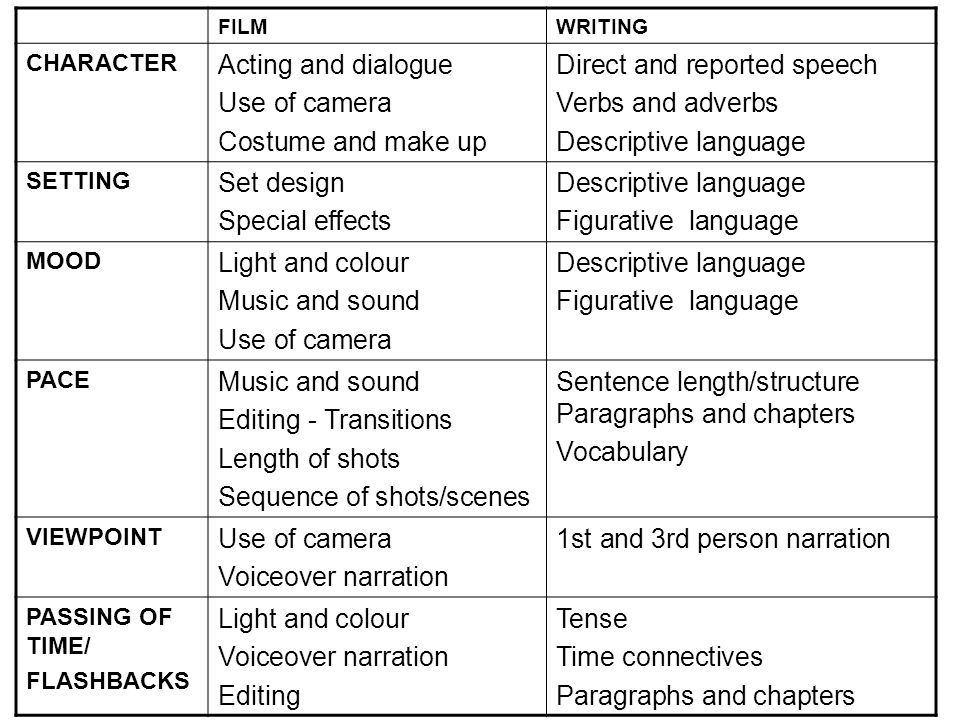 descriptive essay camera