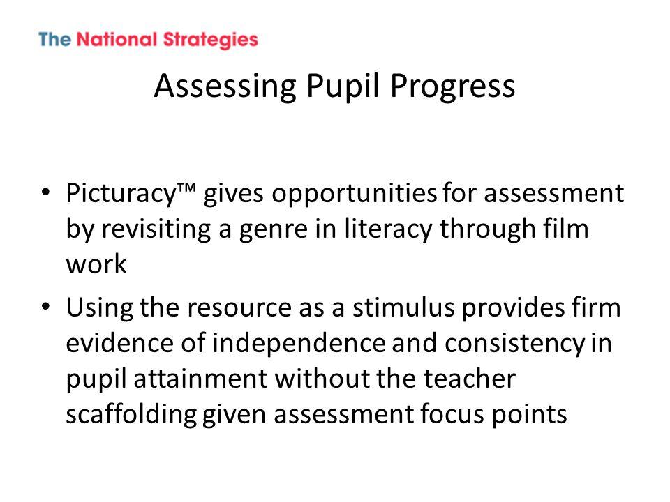 Assessing Pupil Progress