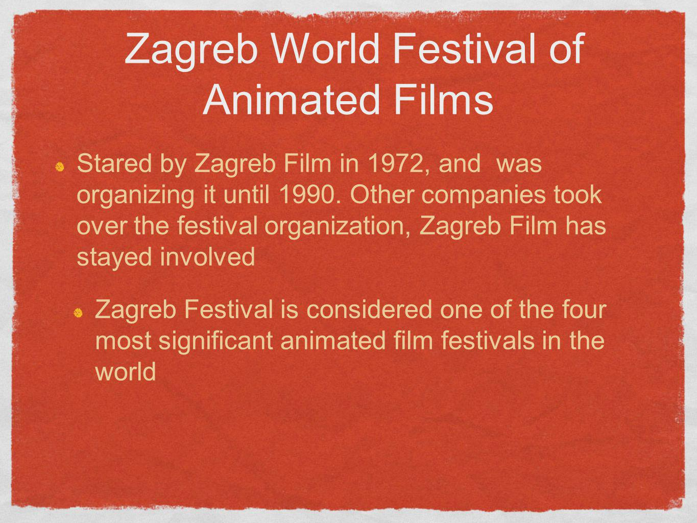 Zagreb World Festival of Animated Films