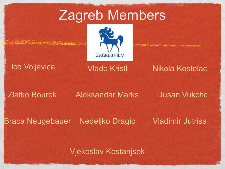 Zagreb Members Ico Voljevica Vlado Kristl Nikola Kostelac