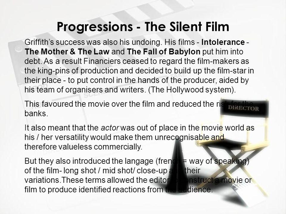 Progressions - The Silent Film
