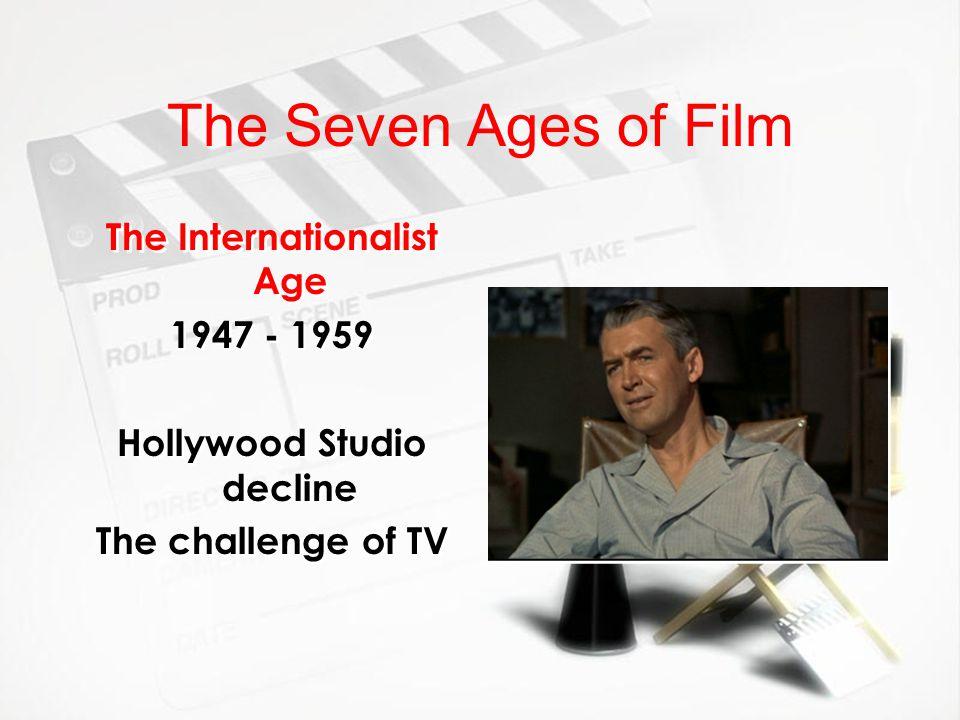 The Internationalist Age Hollywood Studio decline