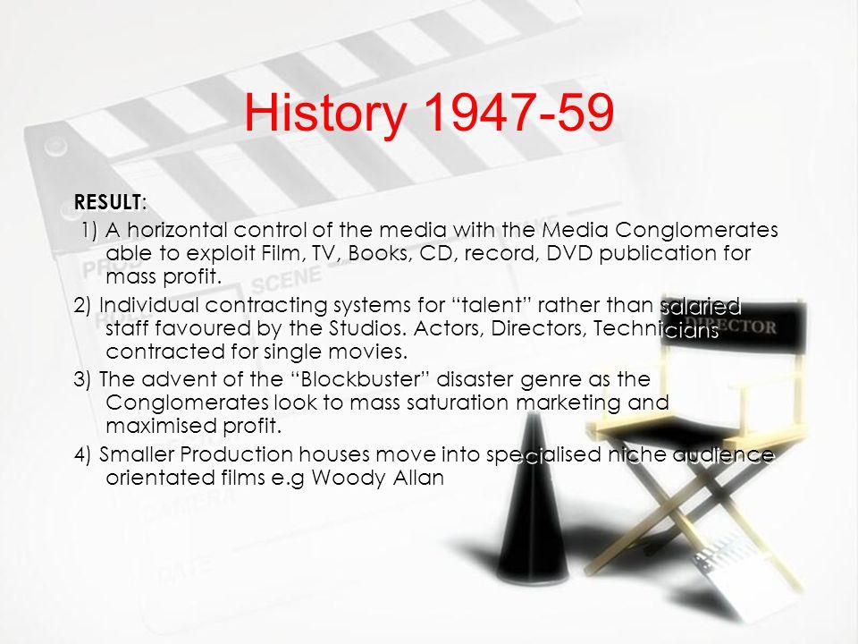 History 1947-59 RESULT: