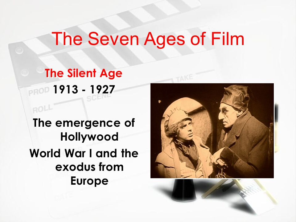 The emergence of Hollywood World War I and the exodus from Europe