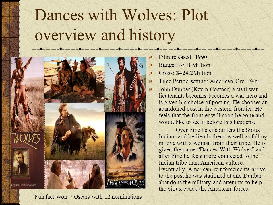 Dances with Wolves: Plot overview and history