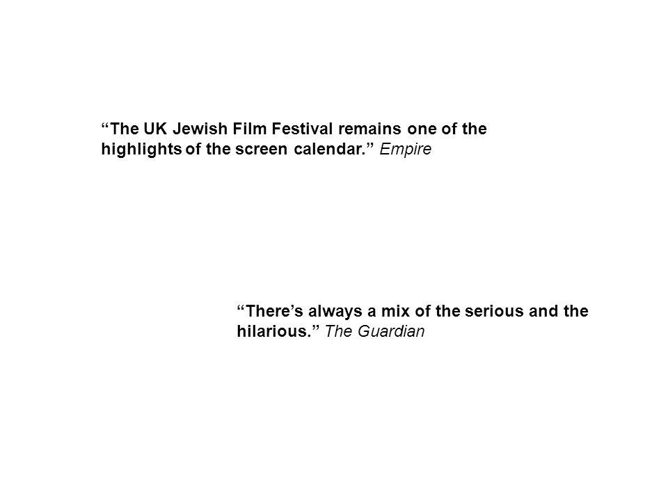 The UK Jewish Film Festival remains one of the highlights of the screen calendar. Empire