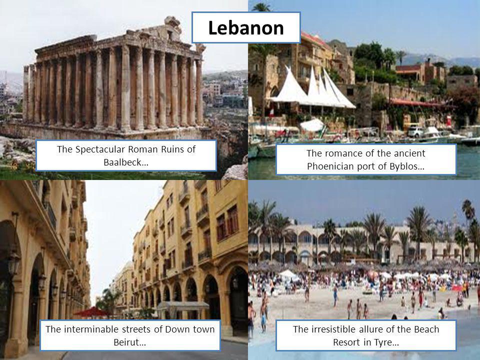 Lebanon The Spectacular Roman Ruins of Baalbeck…
