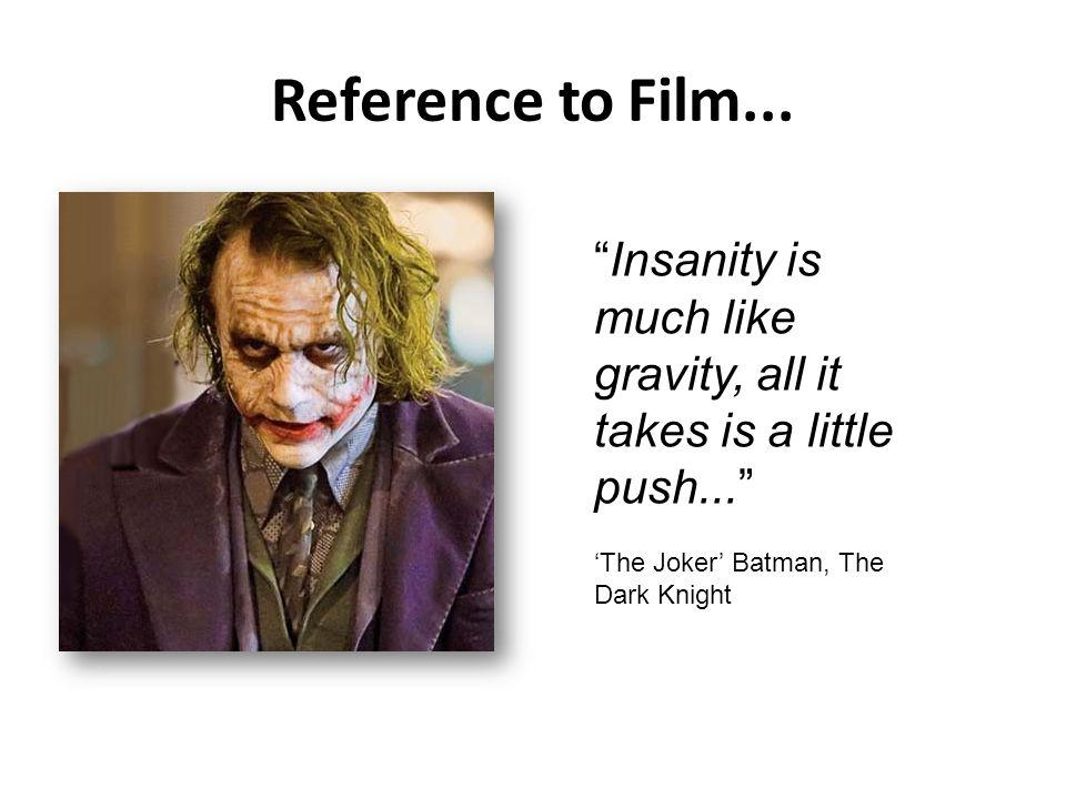Reference to Film...