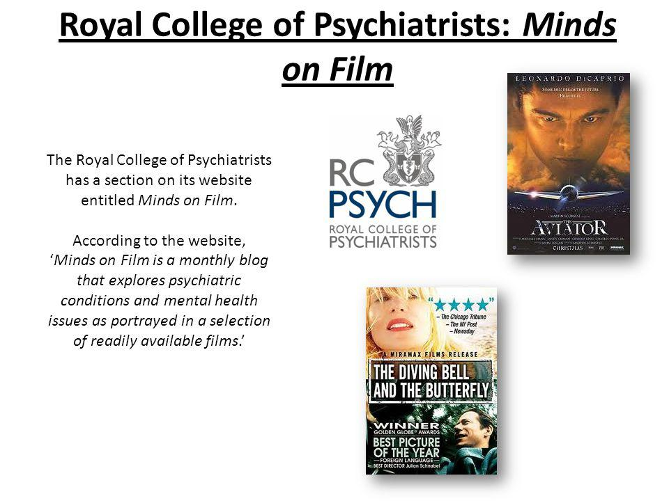 Royal College of Psychiatrists: Minds on Film