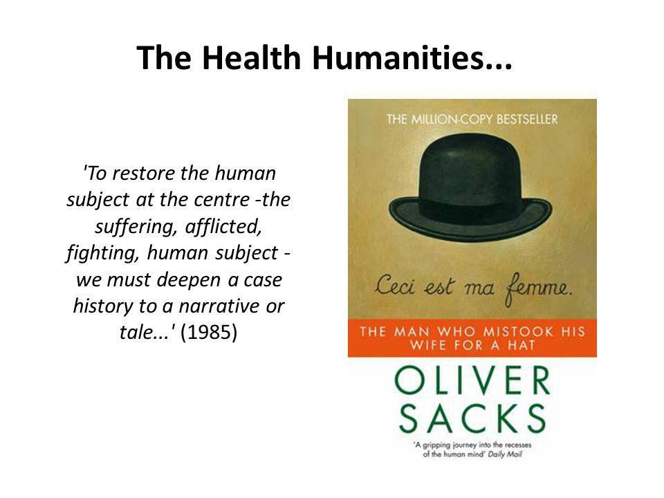 The Health Humanities...