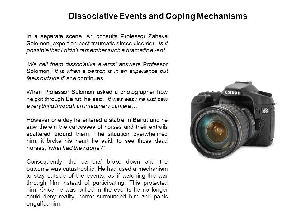 Dissociative Events and Coping Mechanisms