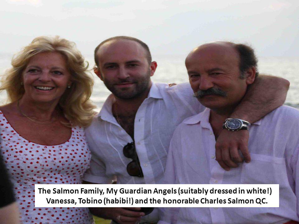 Vanessa, Tobino (habibi!) and the honorable Charles Salmon QC.
