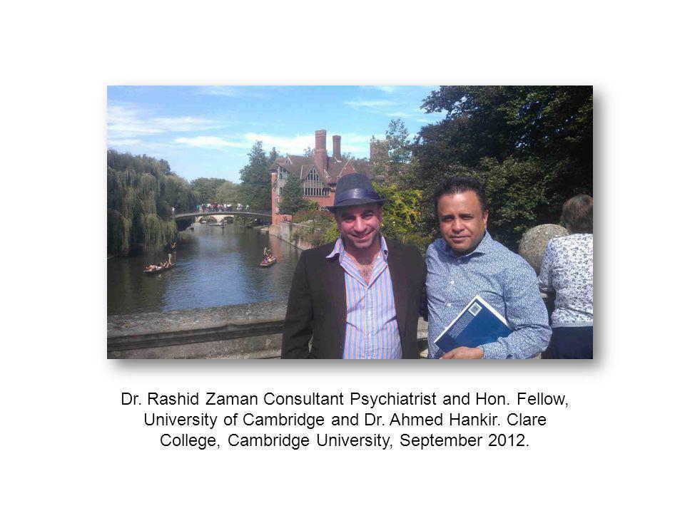Dr. Rashid Zaman Consultant Psychiatrist and Hon