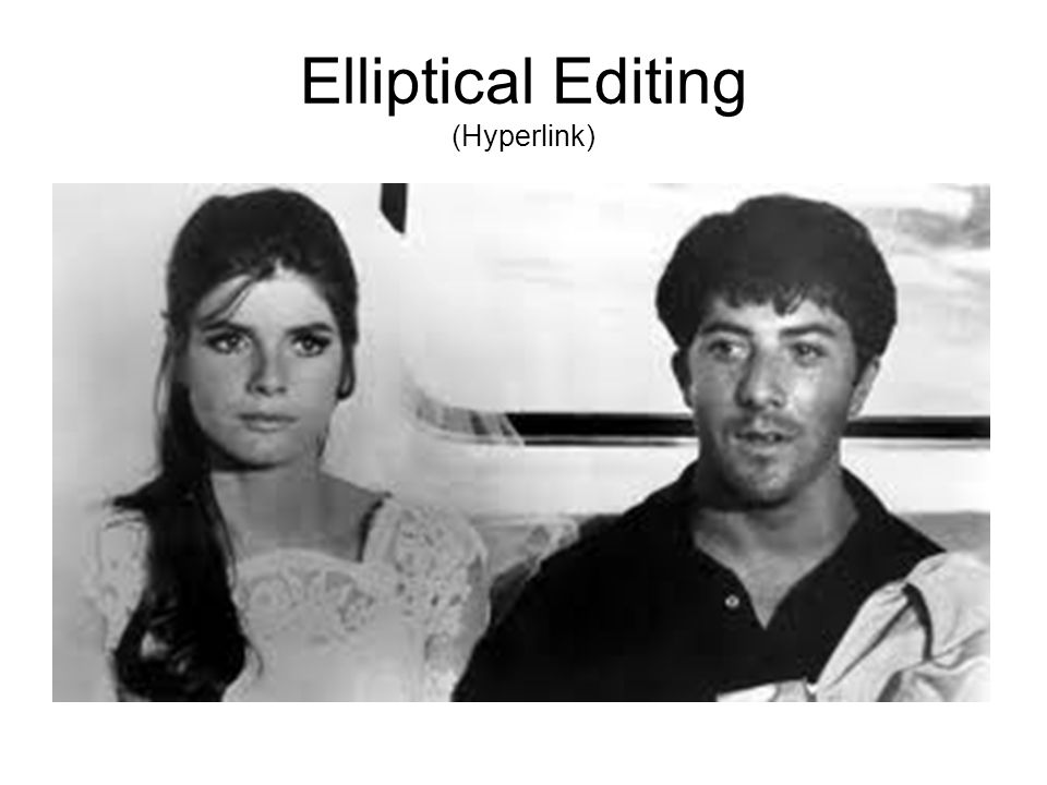 Elliptical Editing (Hyperlink)