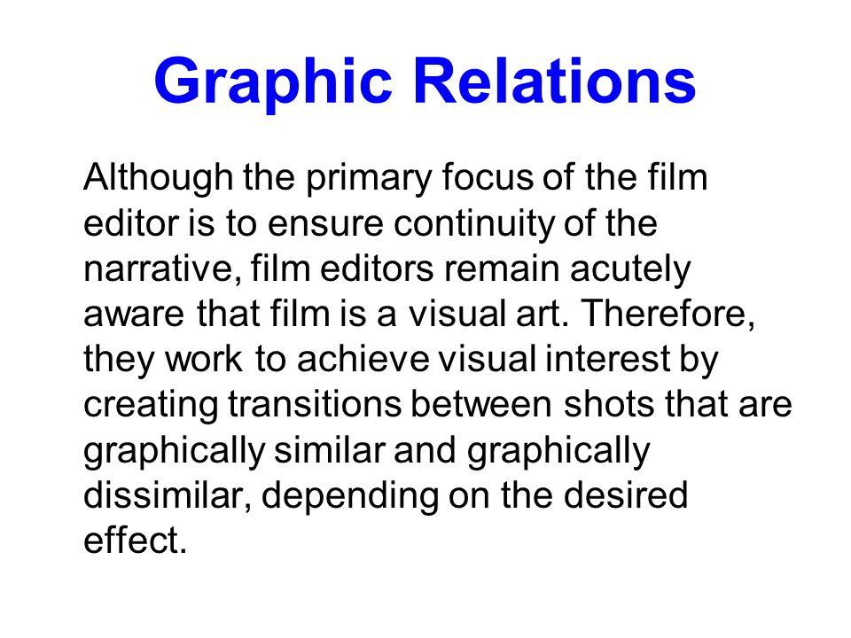 Graphic Relations