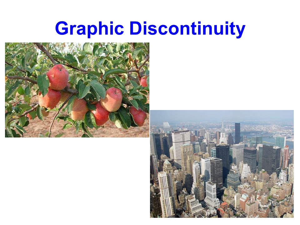 Graphic Discontinuity
