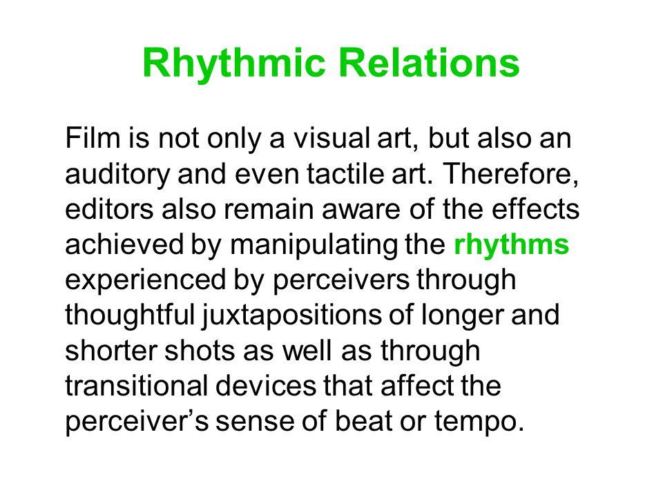 Rhythmic Relations
