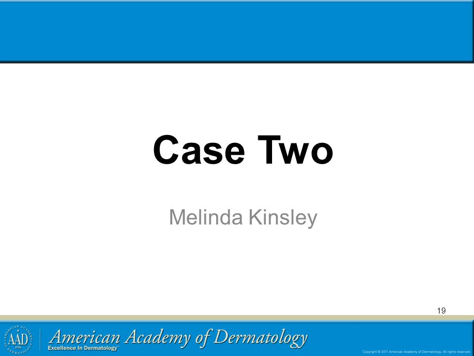 Case Two Melinda Kinsley