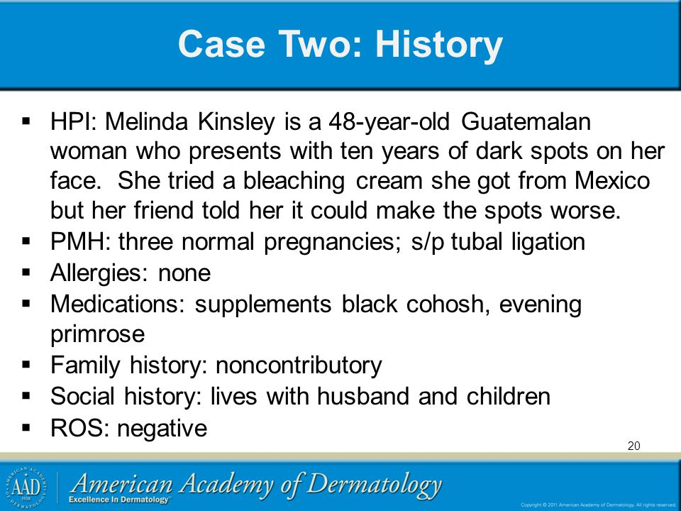 Case Two: History