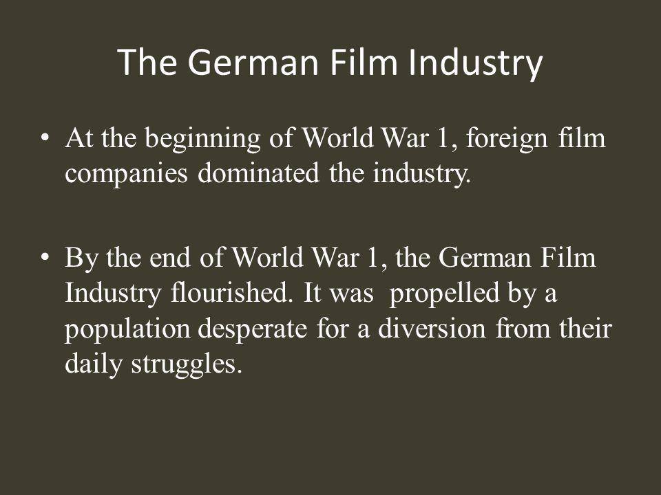 The German Film Industry