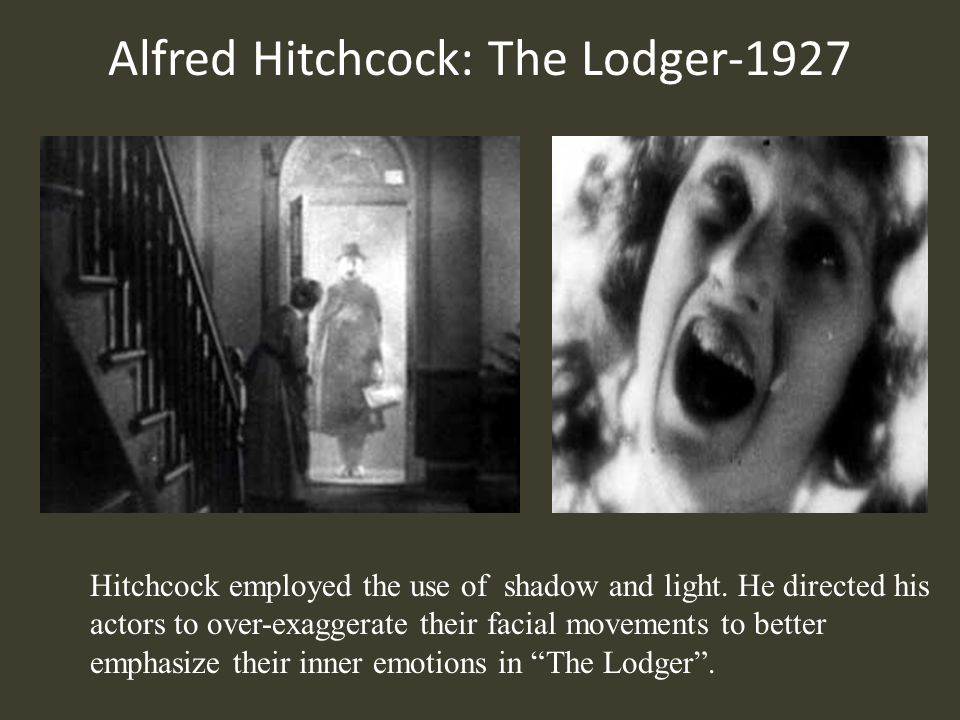 Alfred Hitchcock: The Lodger-1927