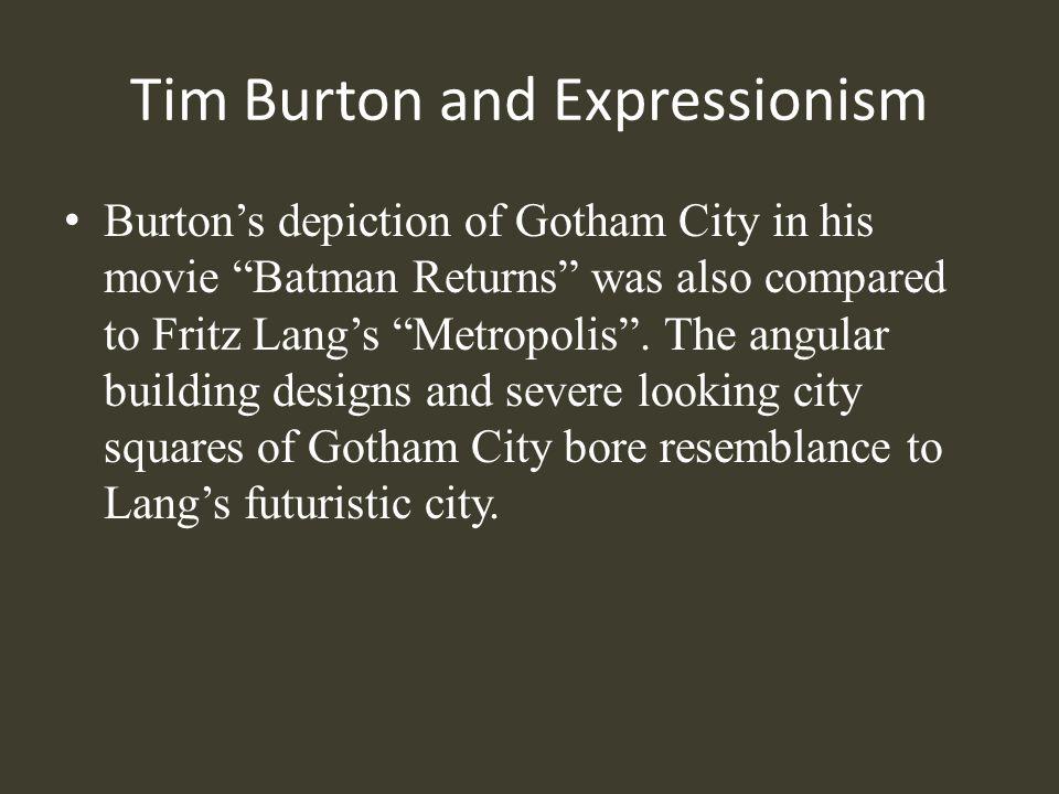 Tim Burton and Expressionism