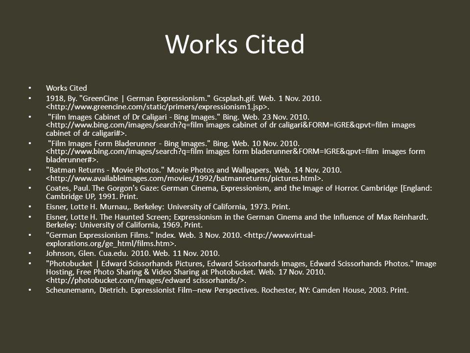 Works Cited Works Cited