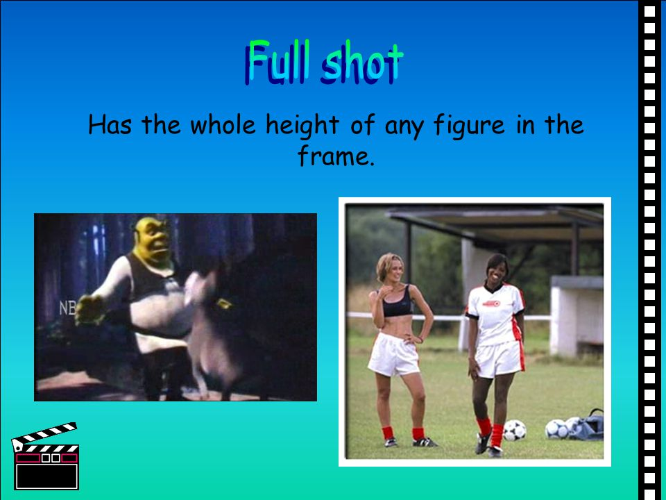 Has the whole height of any figure in the frame.