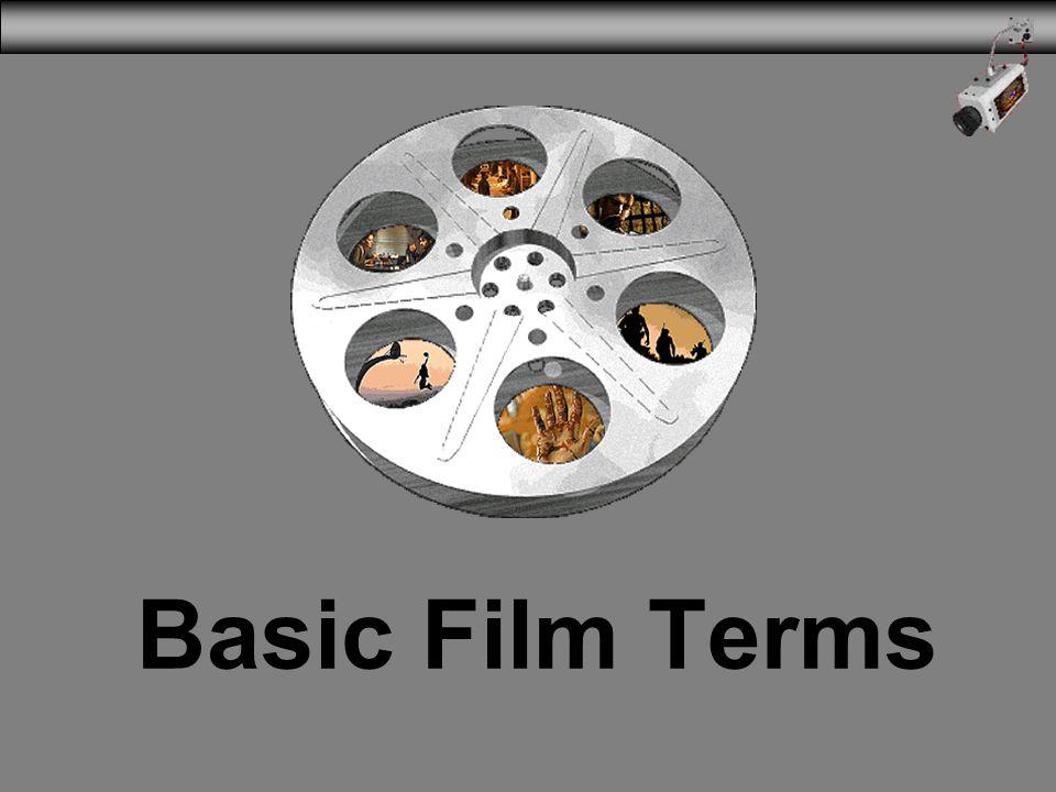 Basic Film Terms