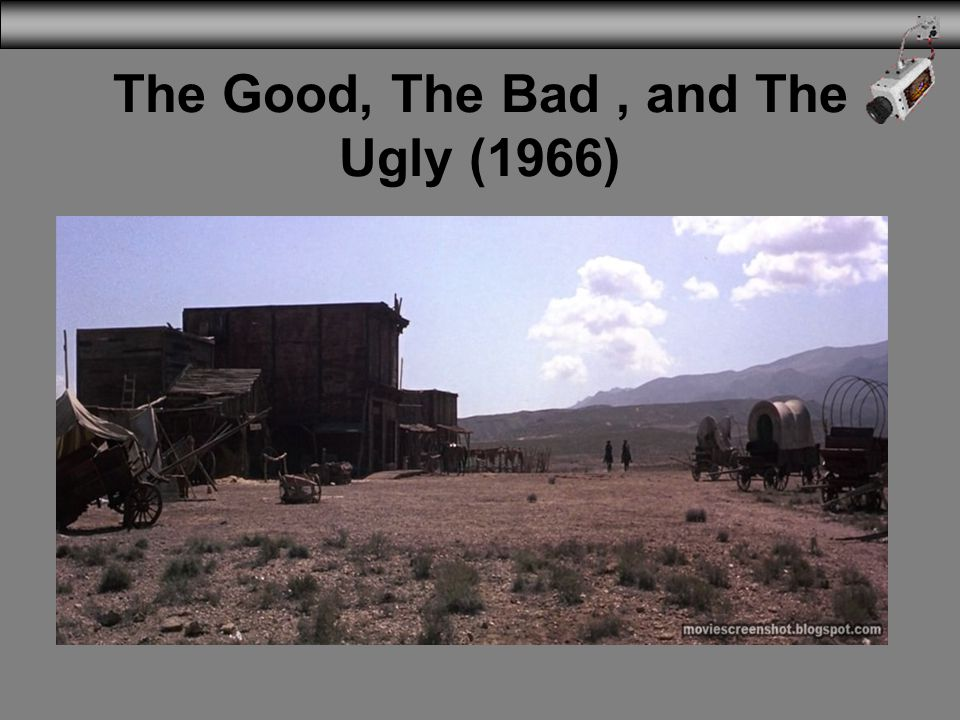 The Good, The Bad , and The Ugly (1966)