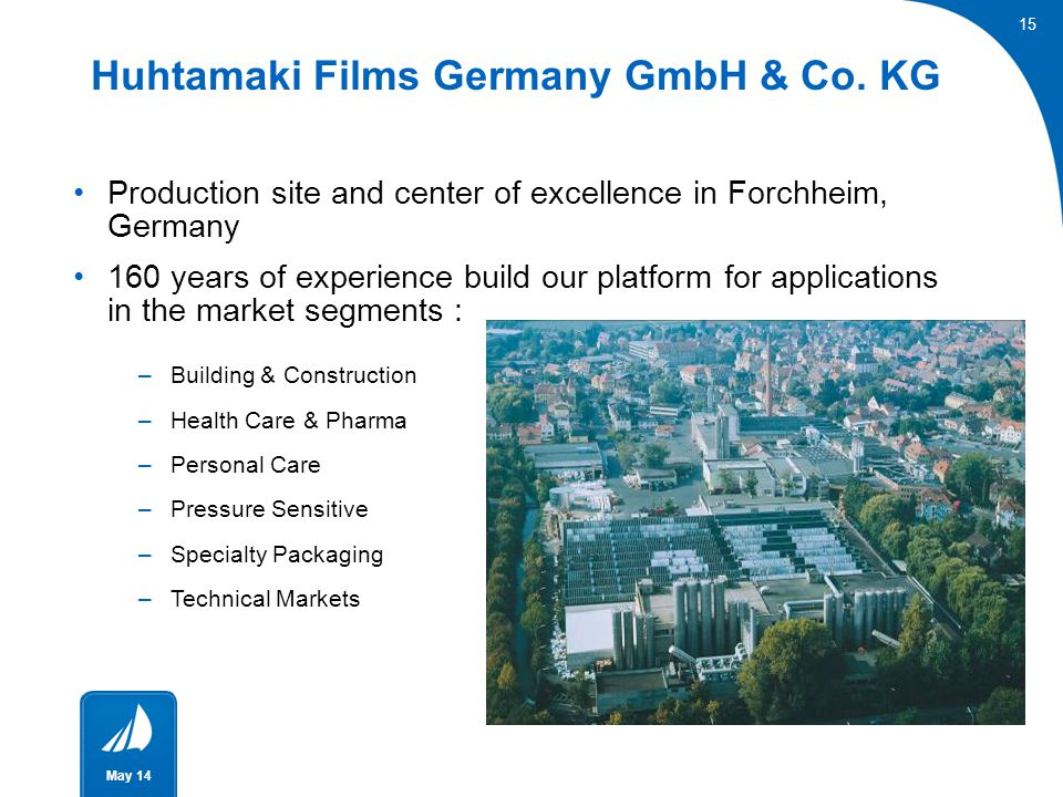 Huhtamaki Films Germany GmbH & Co. KG