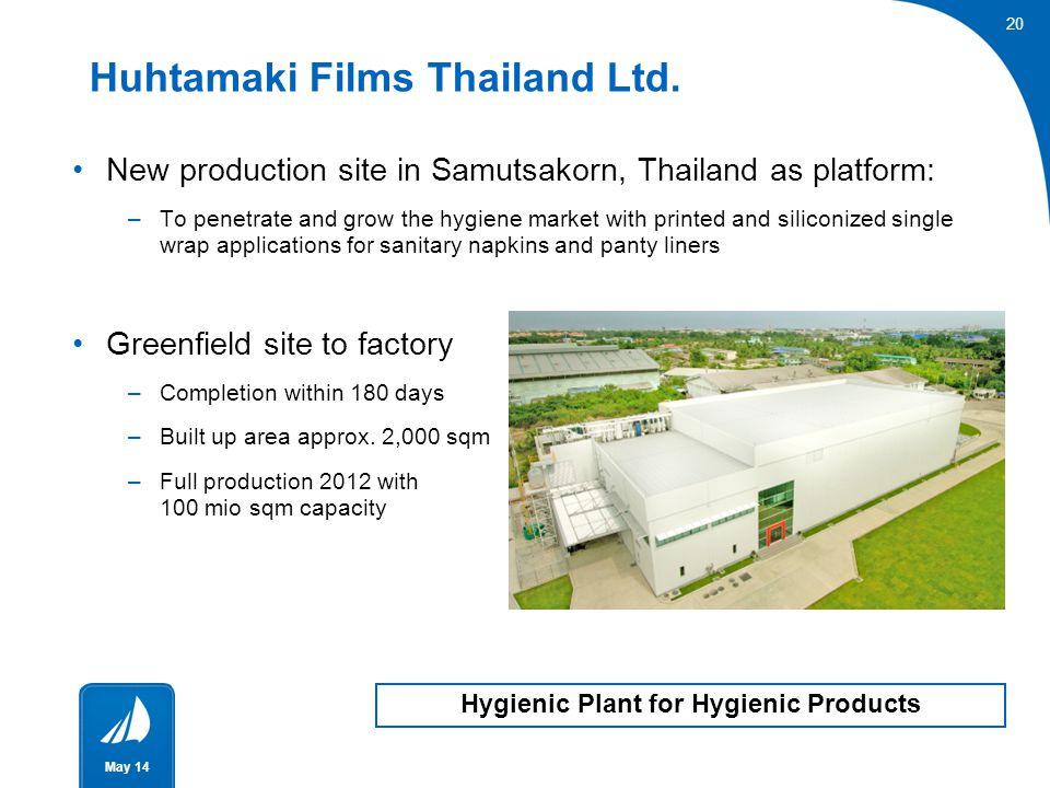 Huhtamaki Films Thailand Ltd.