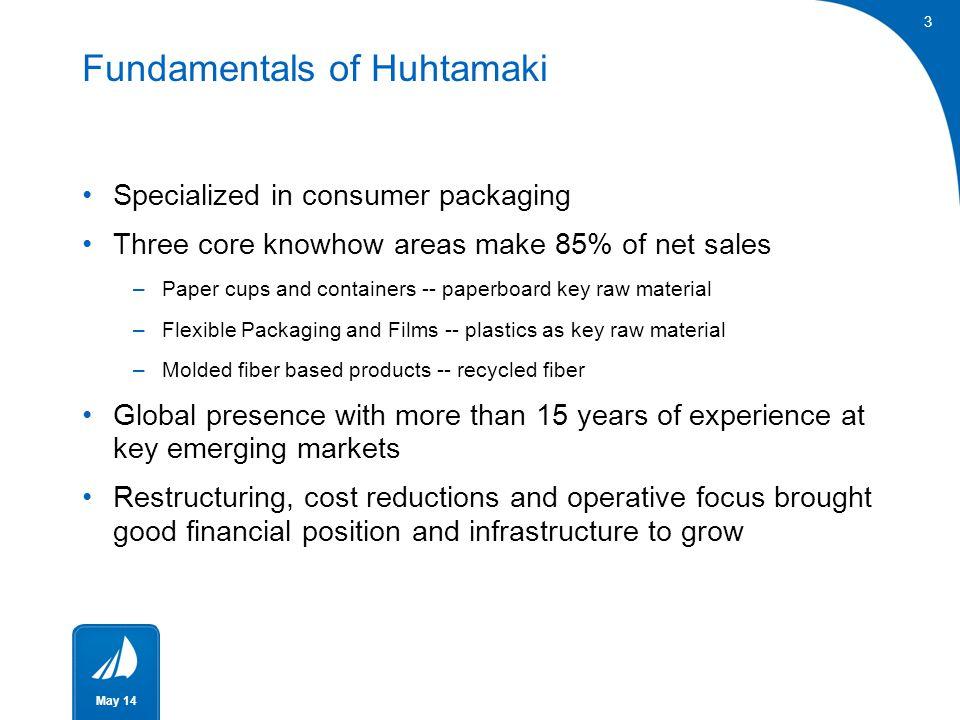Fundamentals of Huhtamaki