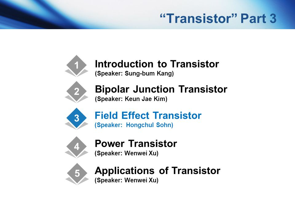 Transistor Part 3 Introduction to Transistor