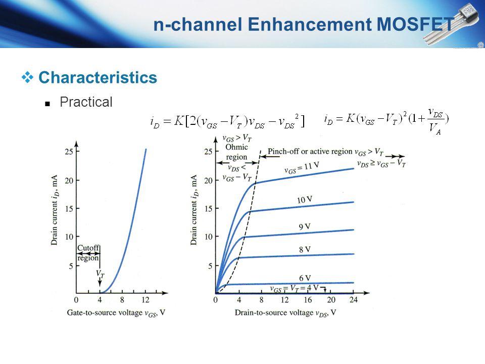n-channel Enhancement MOSFET