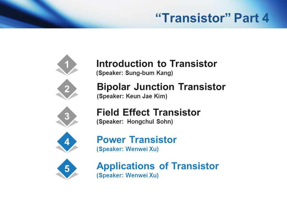 Transistor Part 4 Introduction to Transistor