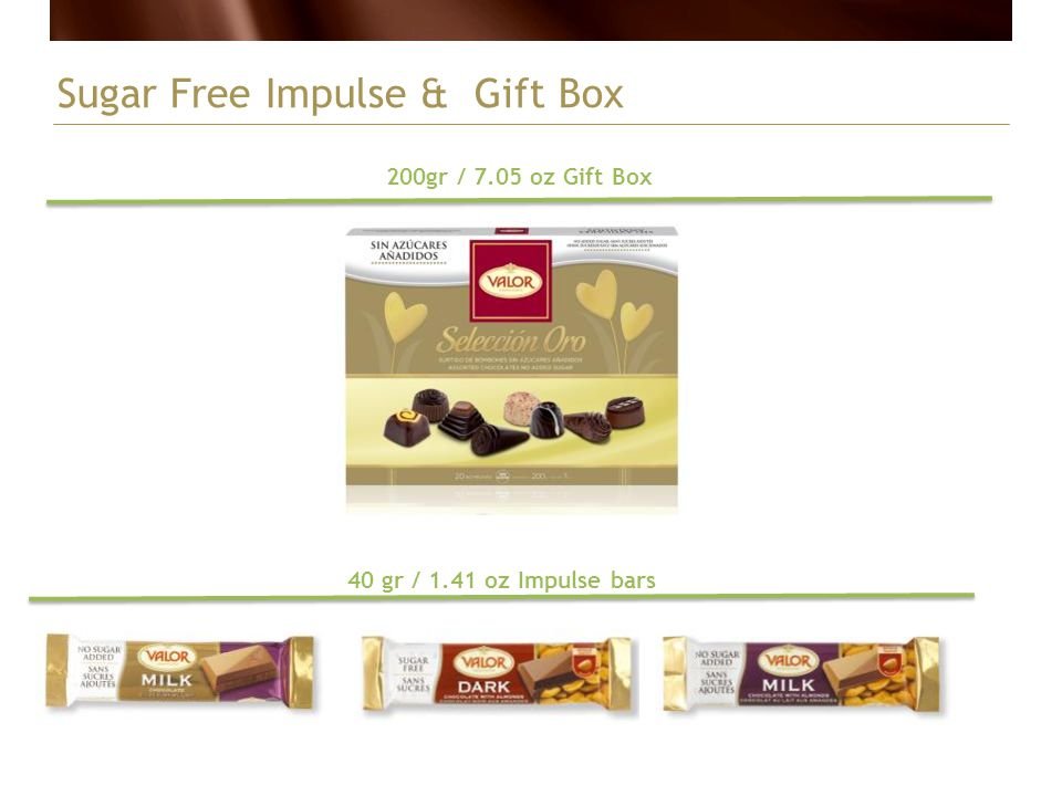 Sugar Free Impulse & Gift Box