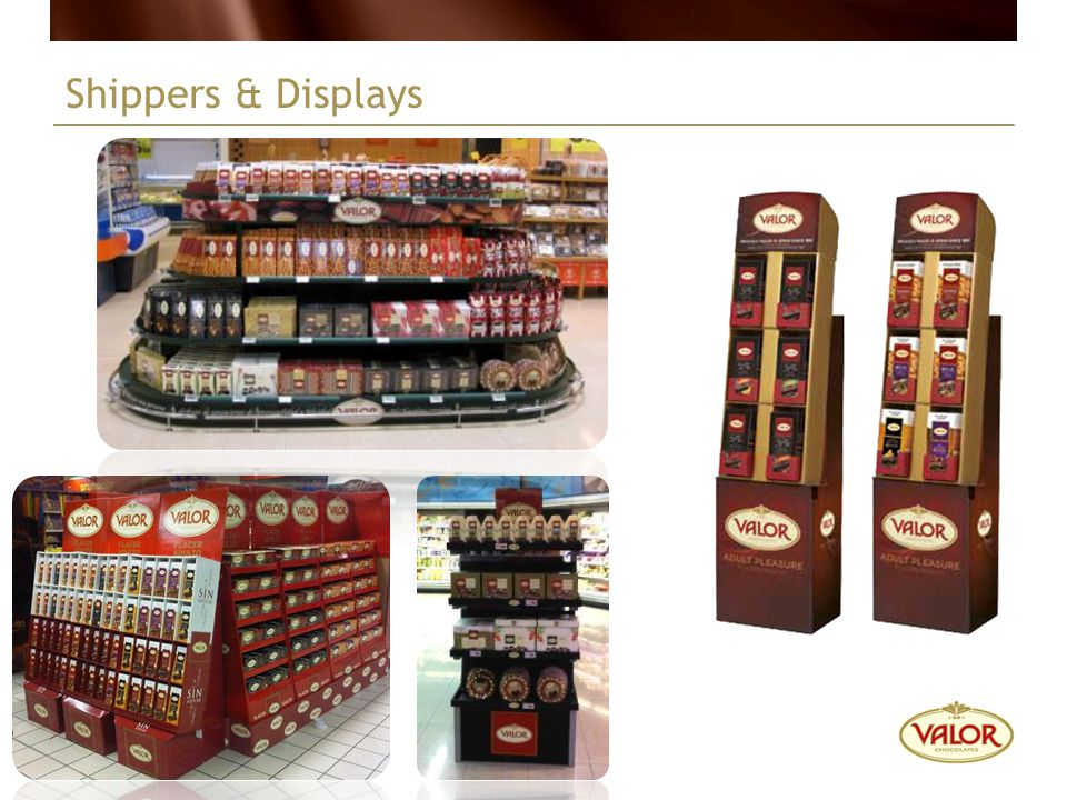 Shippers & Displays