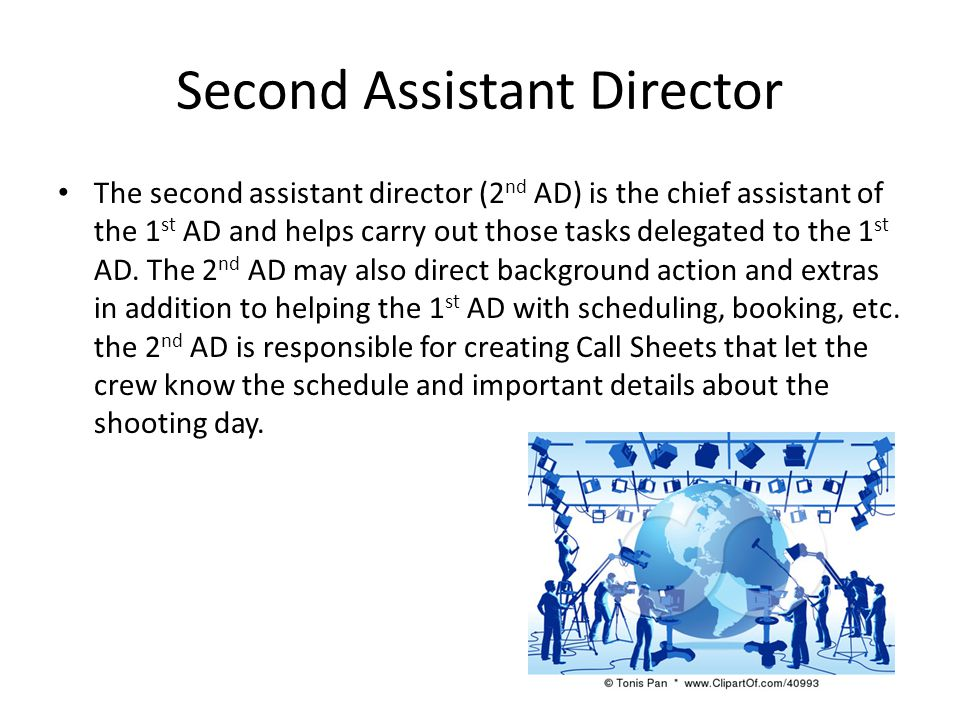 Second Assistant Director
