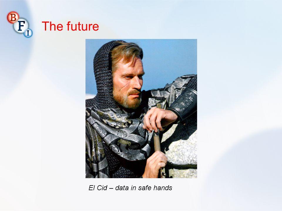 The future El Cid – data in safe hands