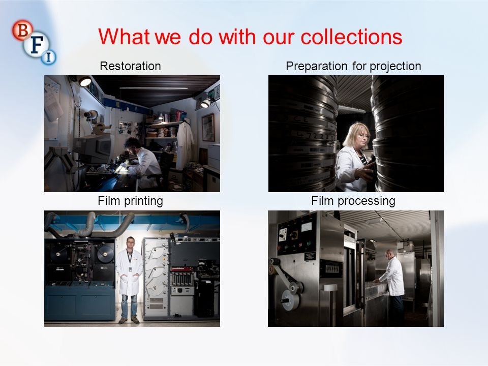 What we do with our collections