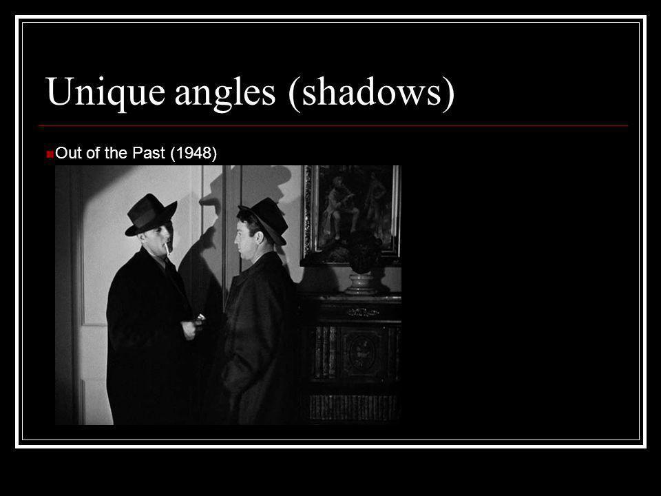 Unique angles (shadows)