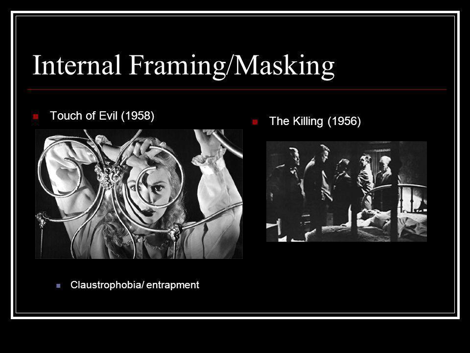 Internal Framing/Masking