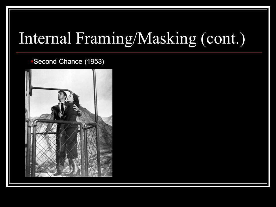 Internal Framing/Masking (cont.)