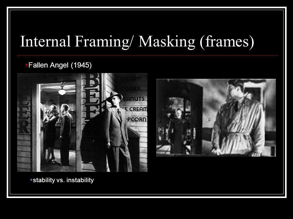 Internal Framing/ Masking (frames)